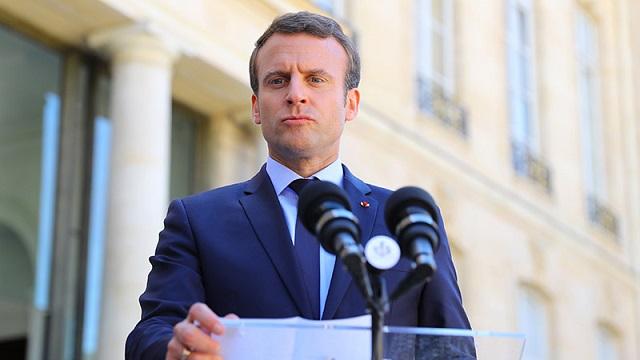 2020/01/31 Macron, c'est le chaos: il doit partir ! Macron10