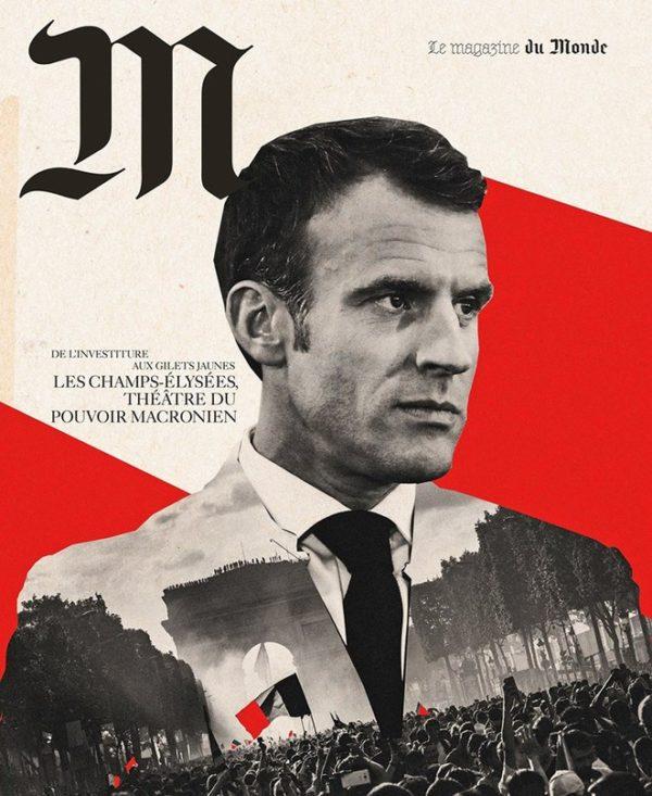 2020/12/07 Macron annonce son coup d'État et l'annulation de la présidentielle 2022 Macron11