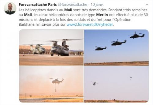 2020/01/14 La France au Sahel: deux cent vingt militaires supplémentaires Pau_so12
