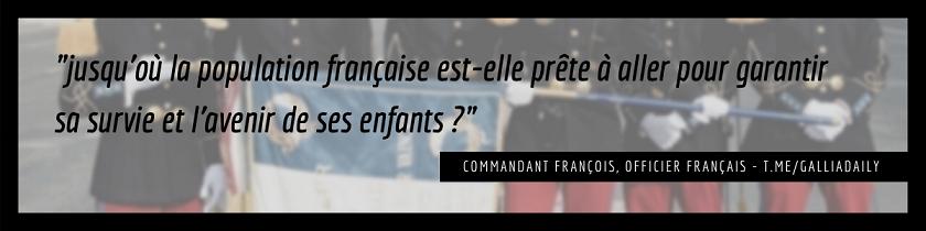 """2021/06/02 """"La guerre civile est inévitable"""" selon un officier français Popula11"""