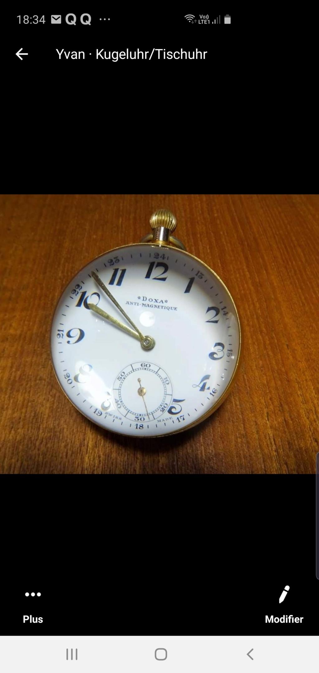Une montre 'boule' trouvée en brocante Screen16