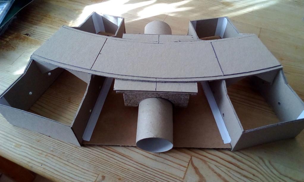 Die seltsamen Methoden des H.P. Wanninger: Karton-Modul-Tischanlage in Spur N 03610