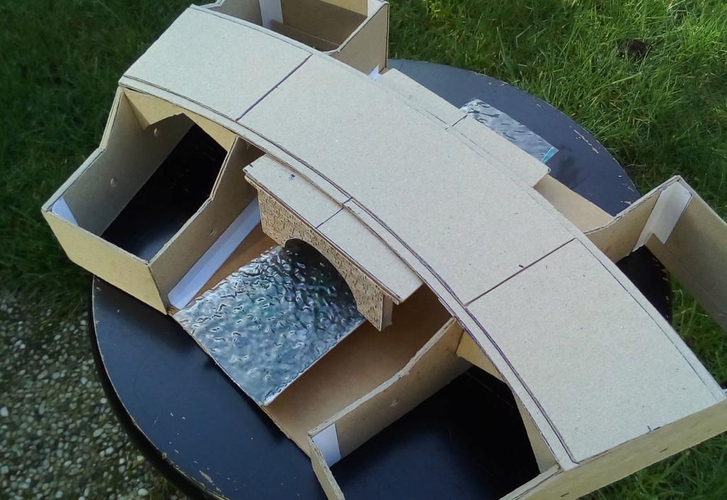 Die seltsamen Methoden des H.P. Wanninger: Karton-Modul-Tischanlage in Spur N 03910