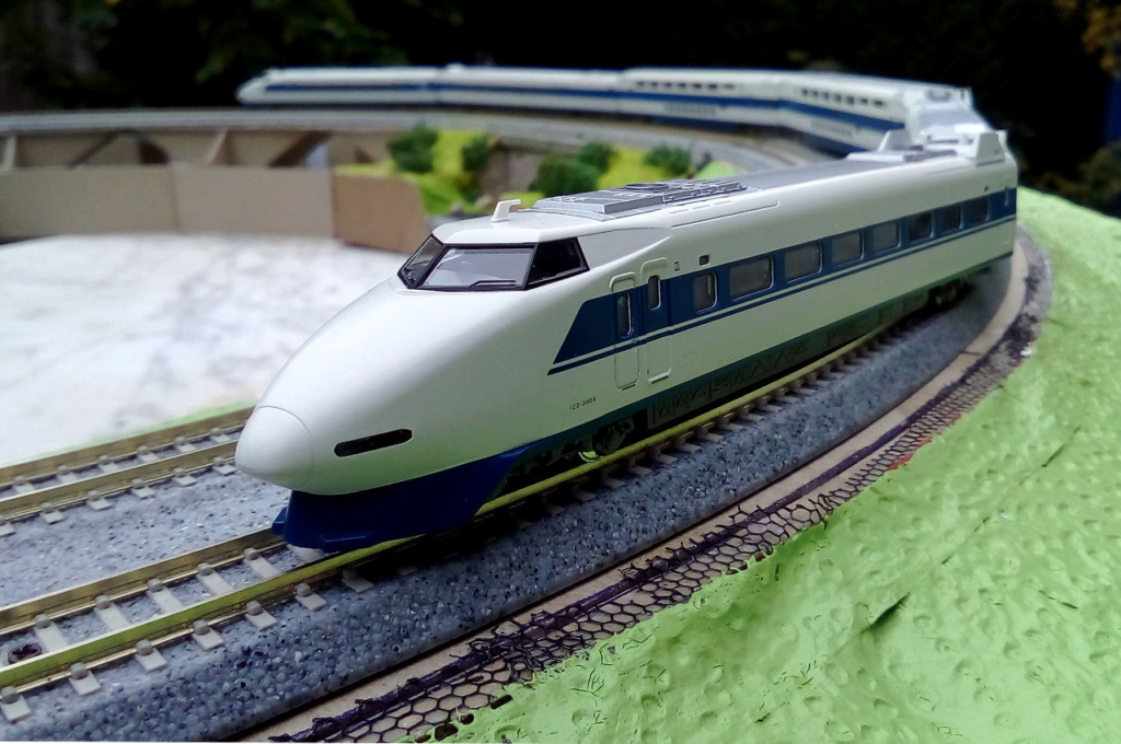 Wanni-san und seine Shinkansen (in Spur N) 100-0210