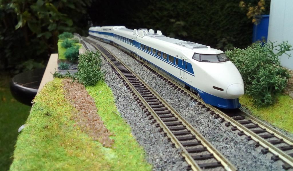 Wanni-san und seine Shinkansen (in Spur N) 100-0510