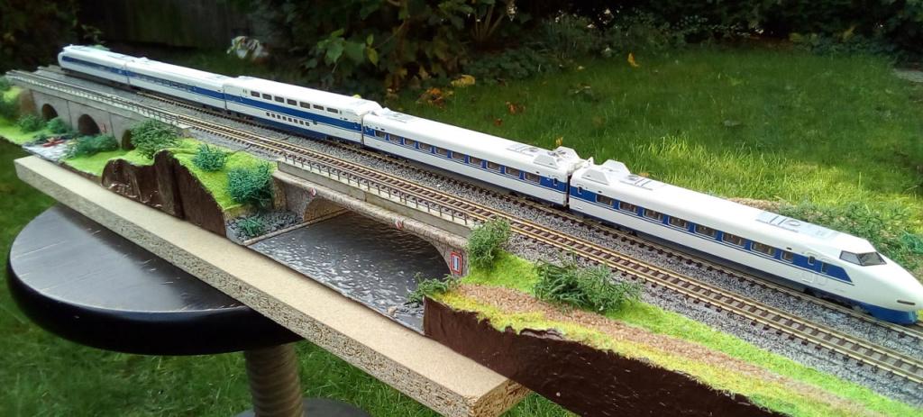 Wanni-san und seine Shinkansen (in Spur N) 100-0610