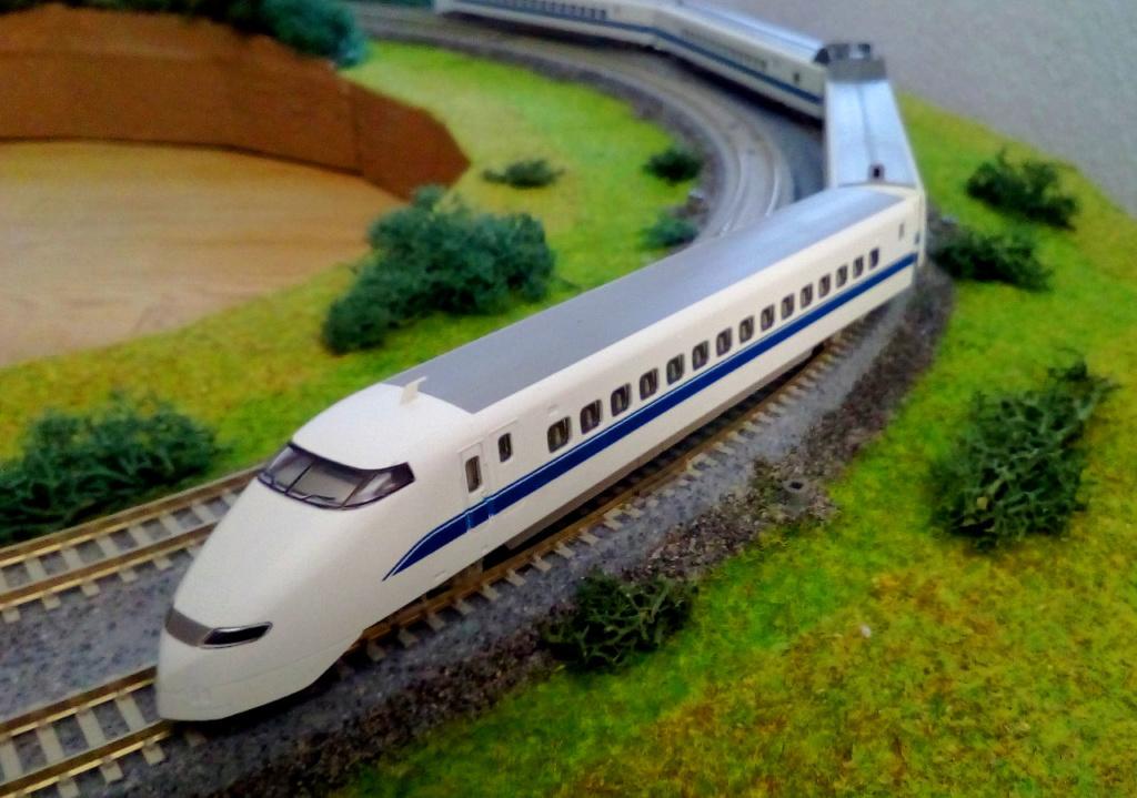Wanni-san und seine Shinkansen (in Spur N) 300-b10