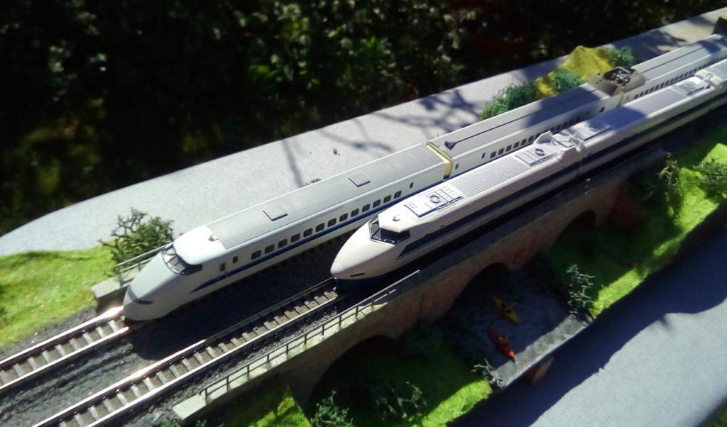 Wanni-san und seine Shinkansen (in Spur N) 300-i10