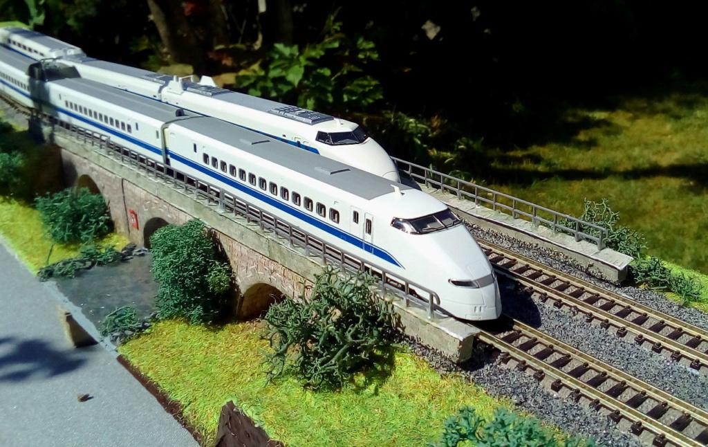 Wanni-san und seine Shinkansen (in Spur N) 300-j10