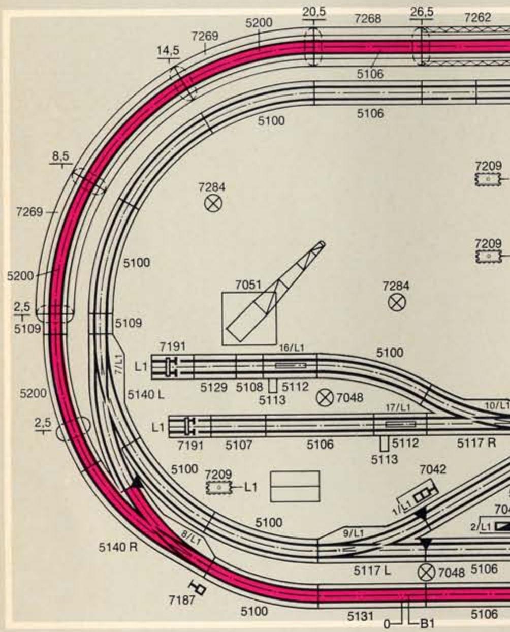 Weitere noch seltsamere Methoden des H.P. Wanninger: Karton-Module für H0 C-018b10