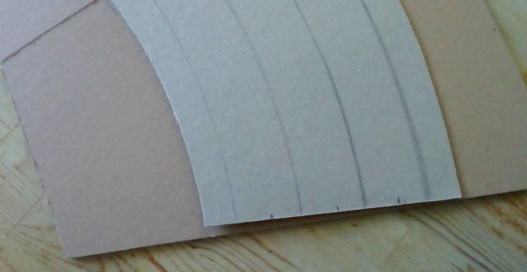 Weitere noch seltsamere Methoden des H.P. Wanninger: Karton-Module für H0 C-021a10
