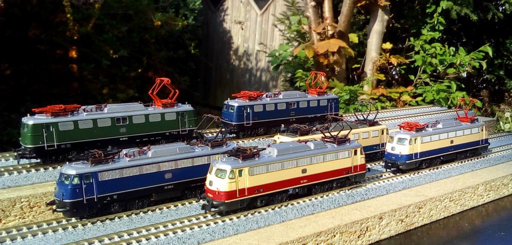 Wanni-san und seine Shinkansen (in Spur N) Hobby-11