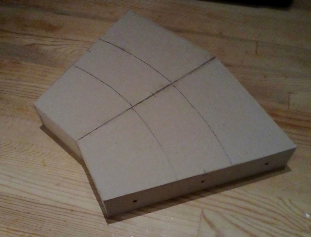 Die seltsamen Methoden des H.P. Wanninger: Karton-Modul-Tischanlage in Spur N Kato-010
