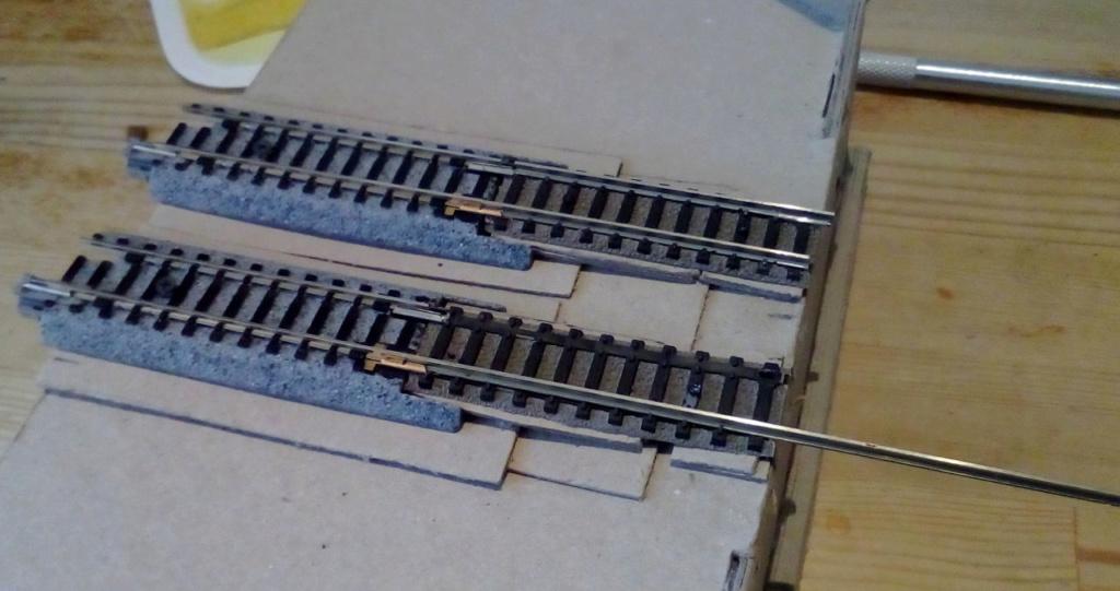 Die seltsamen Methoden des H.P. Wanninger: Karton-Modul-Tischanlage in Spur N - Seite 3 Kato-613