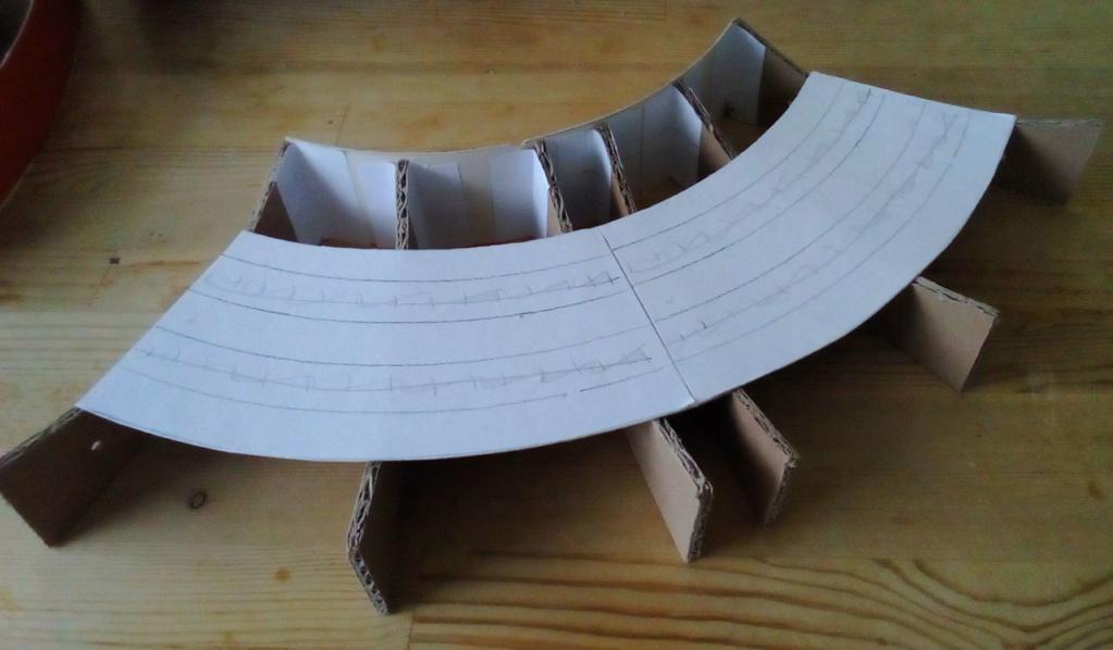 Die seltsamen Methoden des H.P. Wanninger: Karton-Modul-Tischanlage in Spur N N-0310
