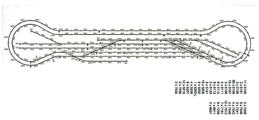 Weitere noch seltsamere Methoden des H.P. Wanninger: Karton-Module für H0 Noch-210
