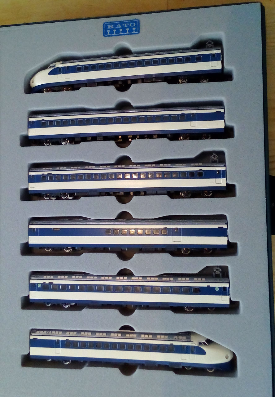 Wanni-san und seine Shinkansen (in Spur N) Shinka12