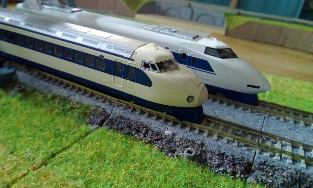 Wanni-san und seine Shinkansen (in Spur N) Shinka18