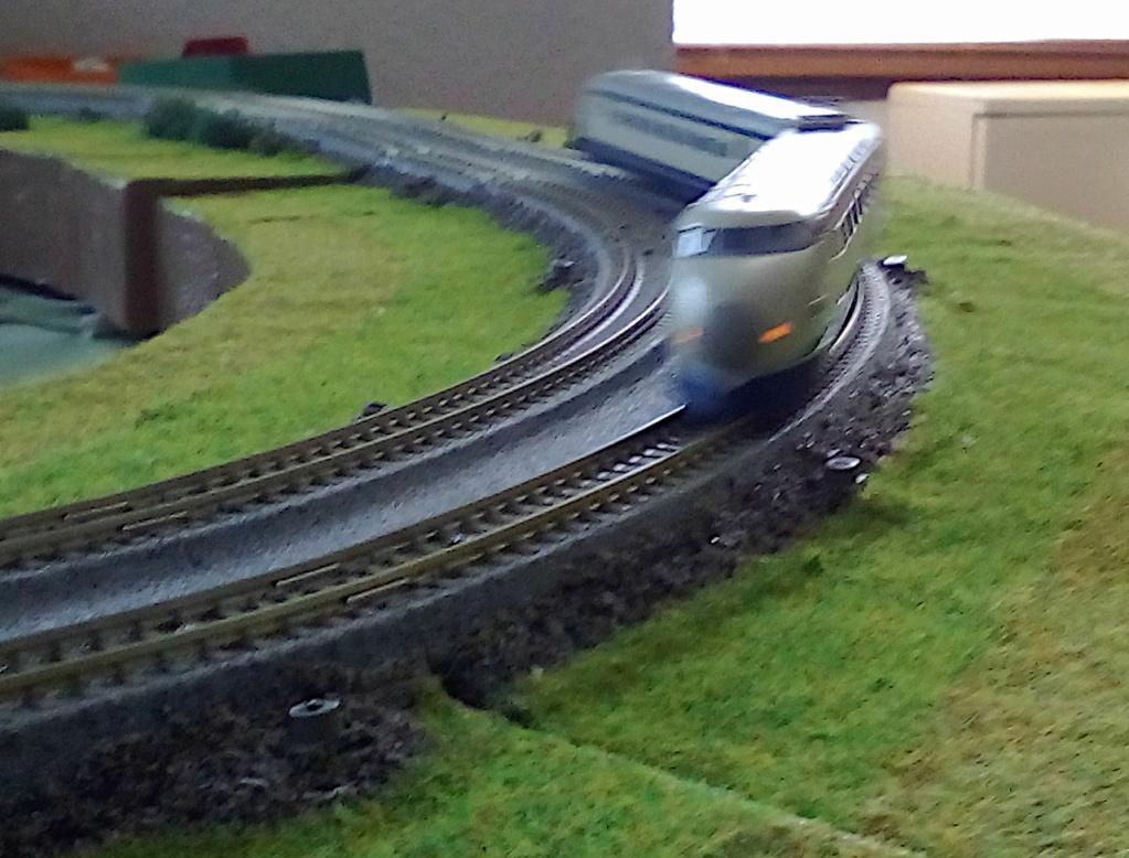 Wanni-san und seine Shinkansen (in Spur N) Shinka21