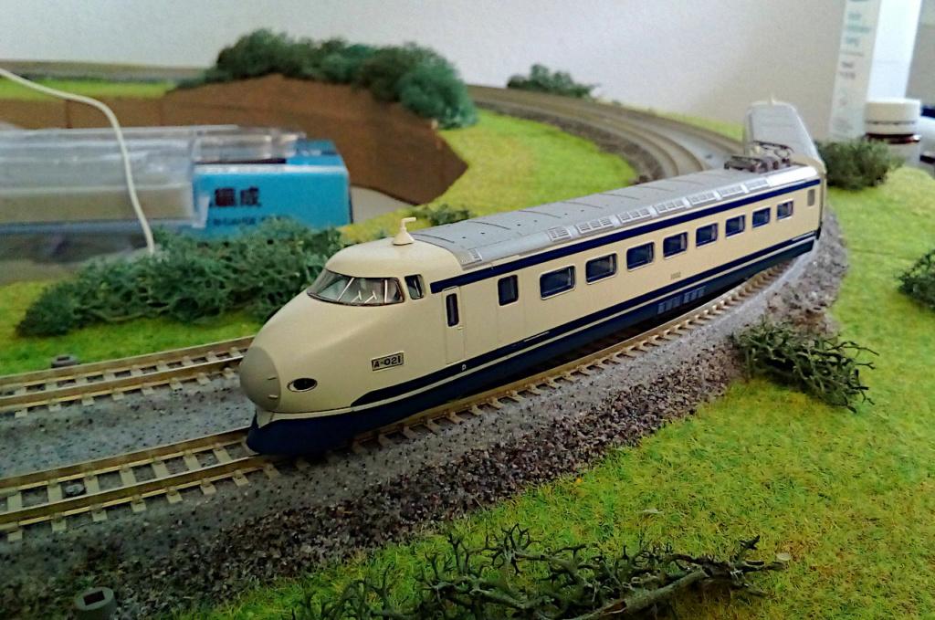 Wanni-san und seine Shinkansen (in Spur N) Shinka22