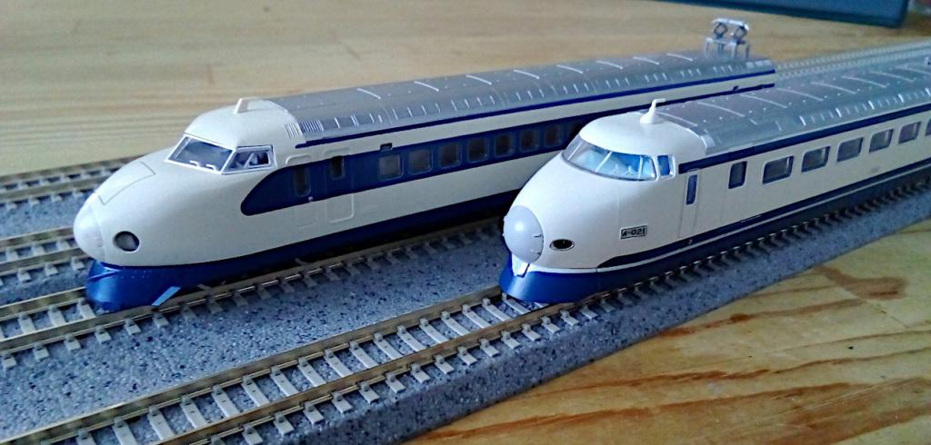 Wanni-san und seine Shinkansen (in Spur N) Shinka23