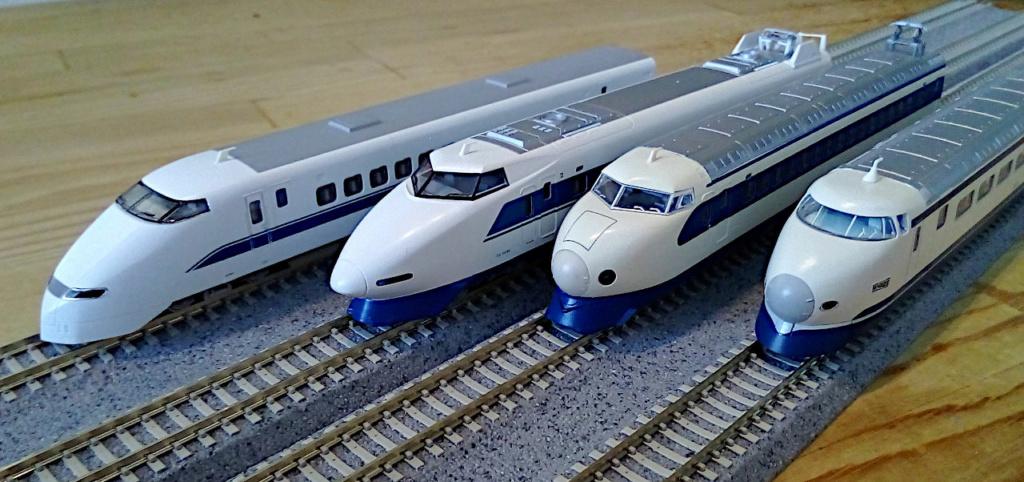 Wanni-san und seine Shinkansen (in Spur N) Shinka24