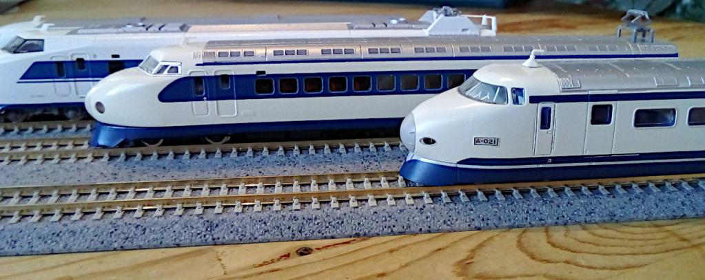 Wanni-san und seine Shinkansen (in Spur N) Shinka25