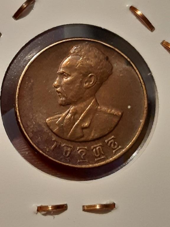 ¡¡Enanas!! Etiopia 1 centavo 1944 20200310