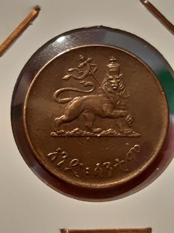 ¡¡Enanas!! Etiopia 1 centavo 1944 20200311