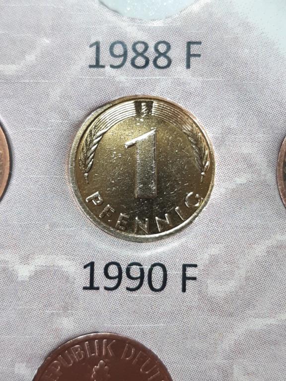 ¡¡Amarillosis de palo!! Alemania 1 pfennig 20200313