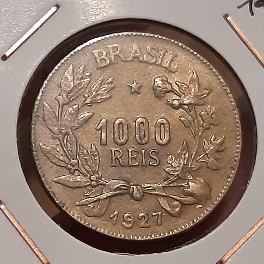 Brasil 1000 reis 1927 20210612