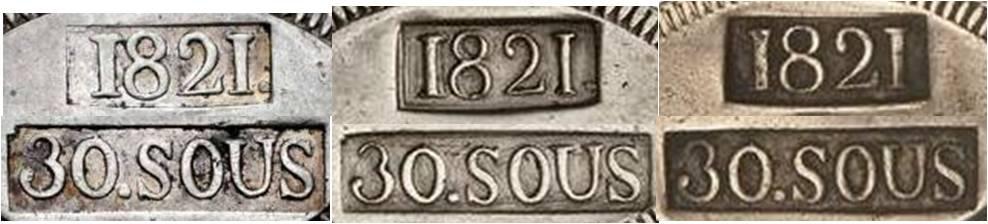30 sous de 1821 de Mallorca  - Página 2 Punzon14