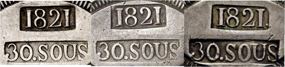 30 sous de 1821 de Mallorca  - Página 2 Punzon16