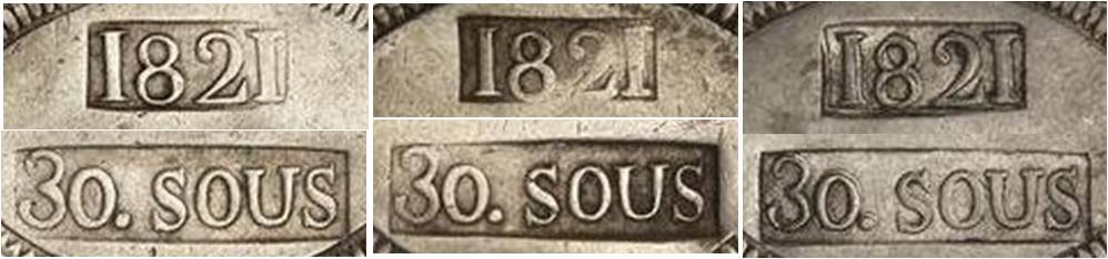 30 sous de 1821 de Mallorca  - Página 2 Punzon28