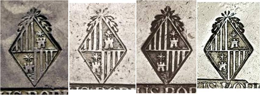 30 sous de 1821 de Mallorca  - Página 2 Punzon50