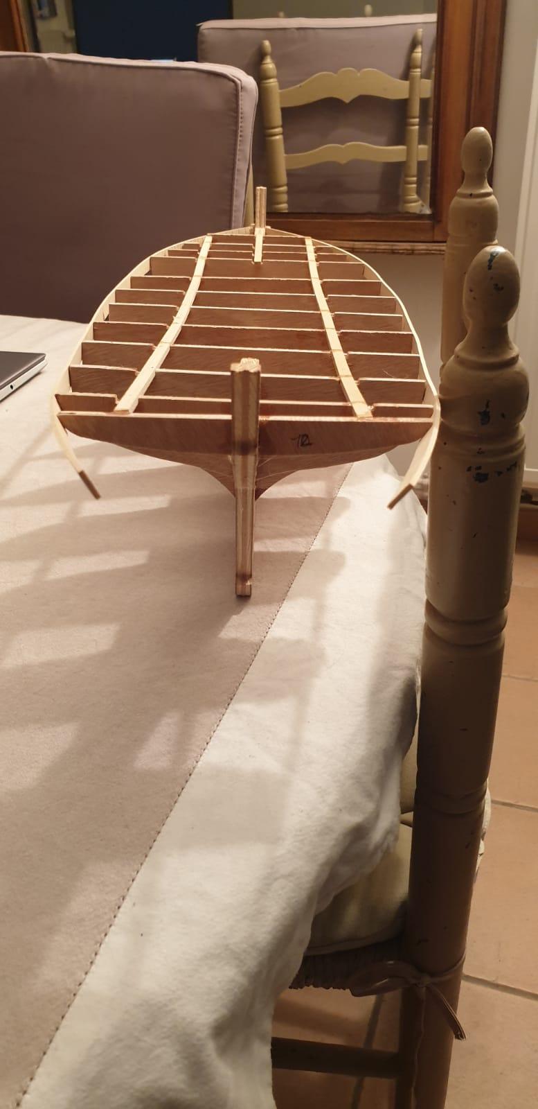 """Thonier """"L'iroise"""" grand modèle, kit de France-Maquettes Whatsa11"""