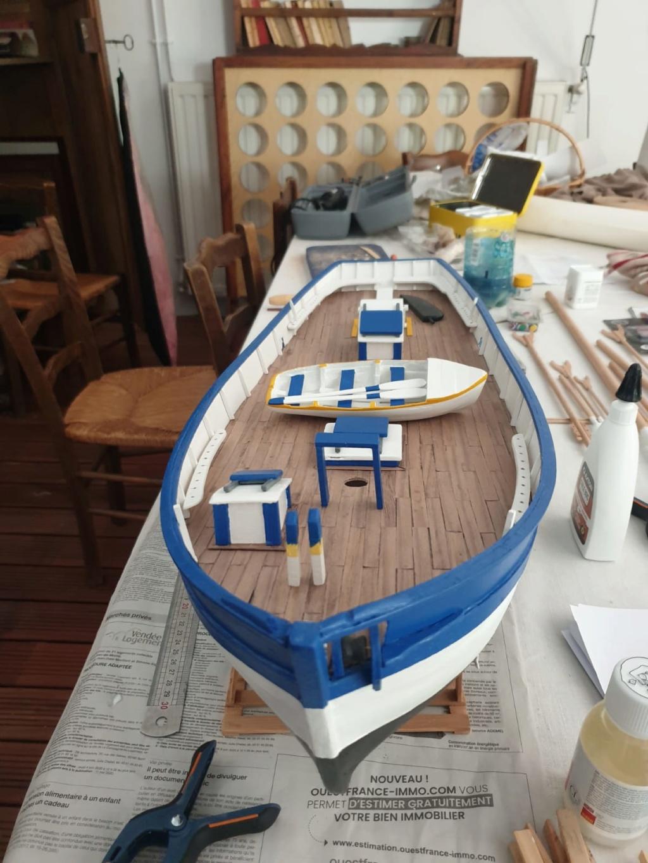"""Thonier """"L'iroise"""" grand modèle, kit de France-Maquettes Whatsa22"""
