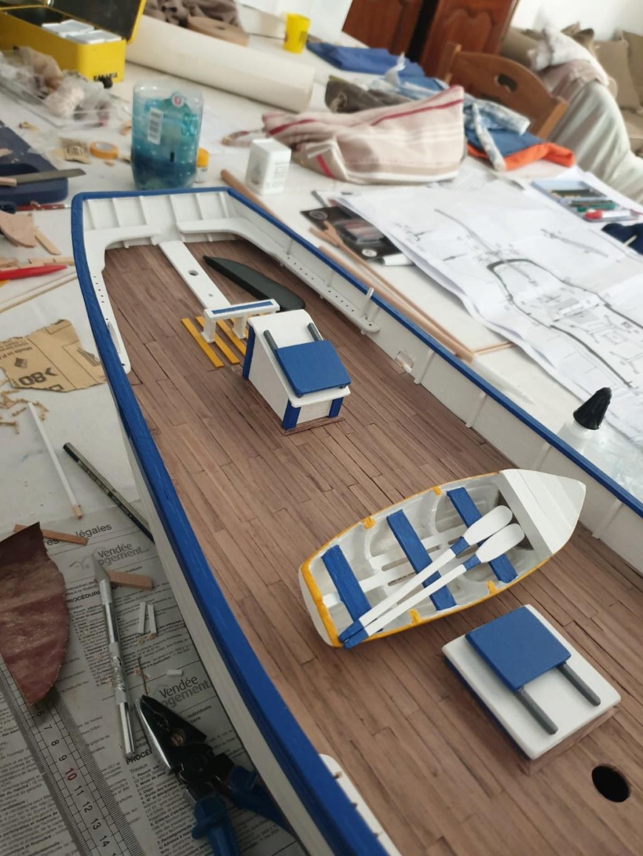 """Thonier """"L'iroise"""" grand modèle, kit de France-Maquettes Whatsa24"""