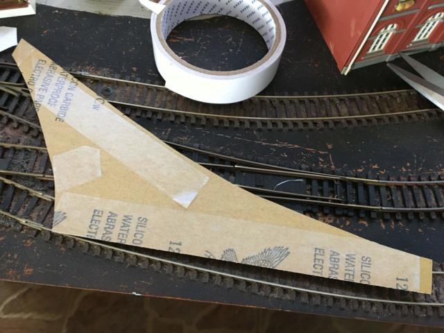 coller facilement une rue en papier abrasif Route_11