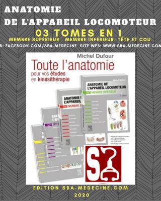 [anatomie]:livre Anatomie de l'appareil locomoteur 3 TOMES EN 1 pdf gratuit  20200721