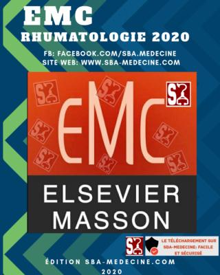 [Rhumato]:EMC Rhumatologie 2020 complet pdf gratuit édition sba-medecine - Page 5 20200820