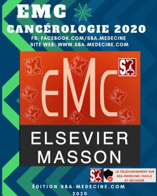 emc - [résolu][cancérologie]:EMC cancérologie 2020 complet pdf gratuit édition sba-medecine 20200821