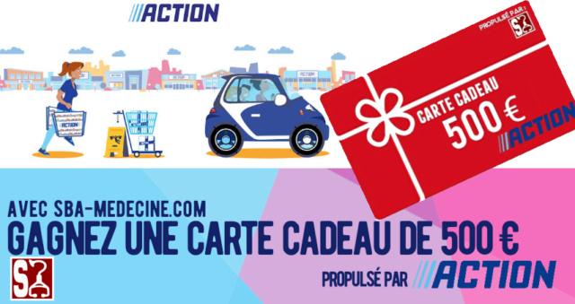 à ne pas rater : Carte cadeau Action de 500 € à remporter ! 20200927