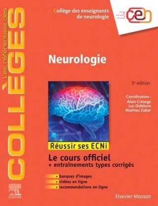[neurologie:Référentiel Collège de Neurologie dernière édition pdf gratuit  - Page 5 97822911