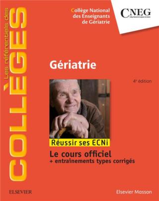 [gériatrie]:Référentiel Collège de Gériatrie dernière édition pdf gratuit - Page 4 97822913