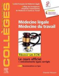 [légale.travaille]:livre Référentiel Collège Médecine légale, médecine du travail dernière édition ecni 2020 pdf  - Page 7 97822918