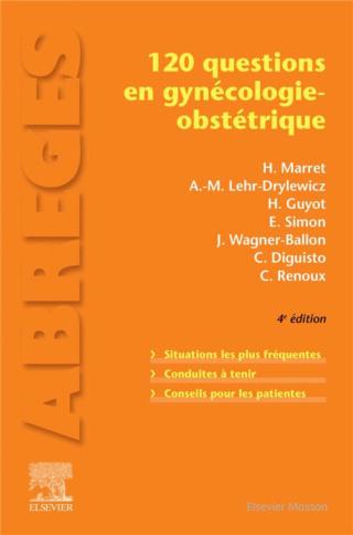 [gynéco]:120 questions en gynécologie-obstétrique dernière dernière édition 2020 pdf gratuit 97822926