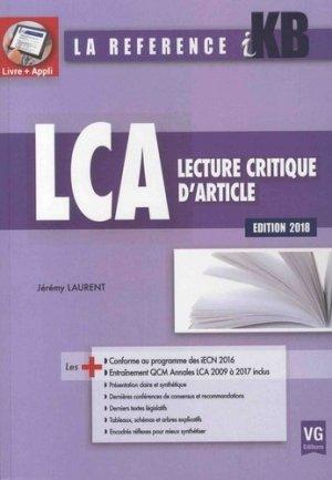 [LCA]:livre KB / iKB Lecture critique d'article dernière édition pdf gratuit  - Page 2 97828117
