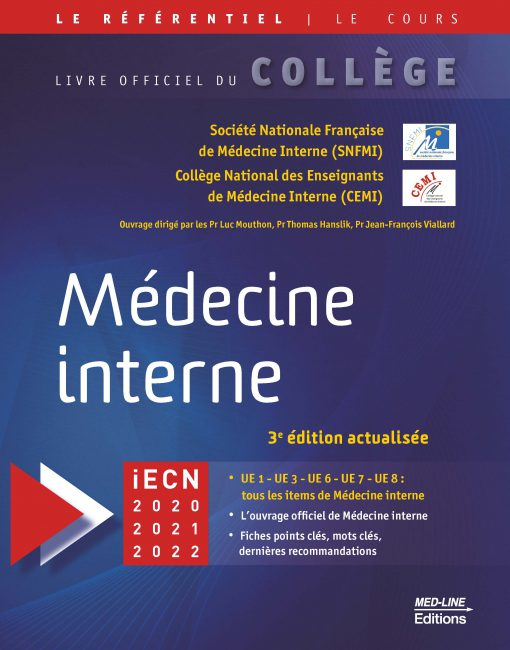 [med-interne]:référentiel collège Med-Line Médecine interne – 3e édition actualisée 2021 pdf gratuit - Page 7 97828414