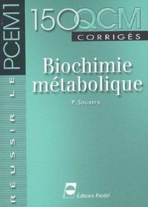 [biochimie]: 150 QCM corrigés Biochimie métabolique pdf gratuit  97829113